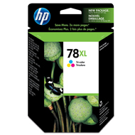 Tusz HP 78XL do Deskjet 920/1180/6122, PSC 720/950 | 1 200 str. | CMY