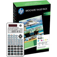 Zestaw tuszy HP 940XL + 100ark. papier Brochure Value Pack do OJ 8000/8500 | CMY